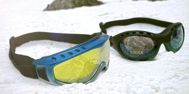 Lyžařské a sluneční brýle Cortini