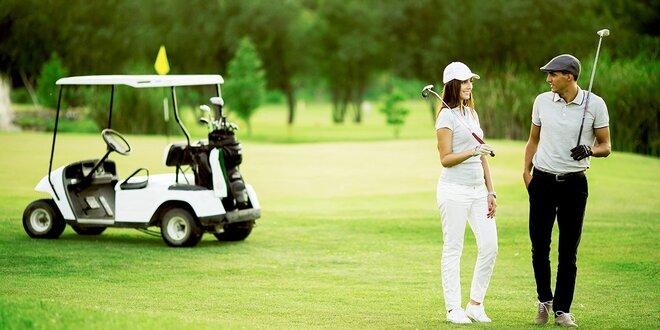 Akční pobyt pod Ještědem: až 3 dny plné golfu