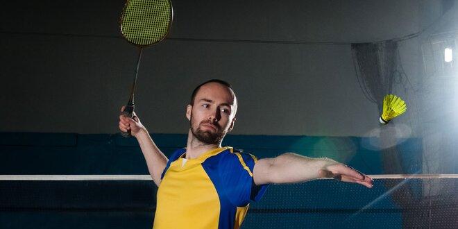 Hodinka badmintonu v kterýkoli všední den