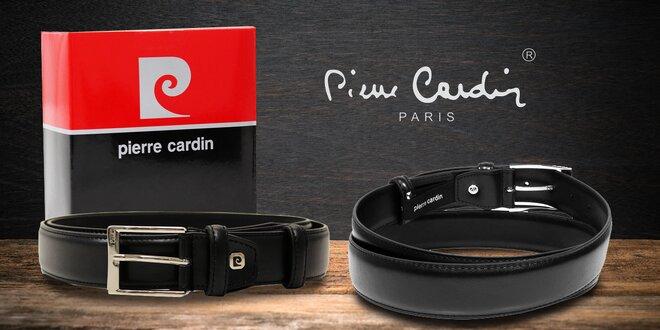Pánské kožené opasky Pierre Cardin