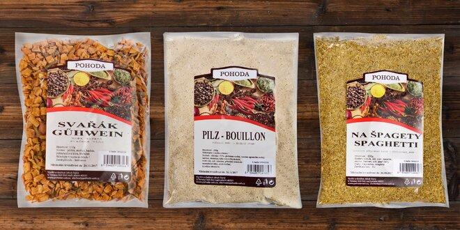 Vařte a pečte se špičkovým kořením Pohoda - vybírejte ze 17 druhů