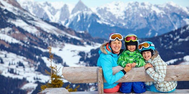 Rakouská lyžovačka s polopenzí pro 2 pohodáře