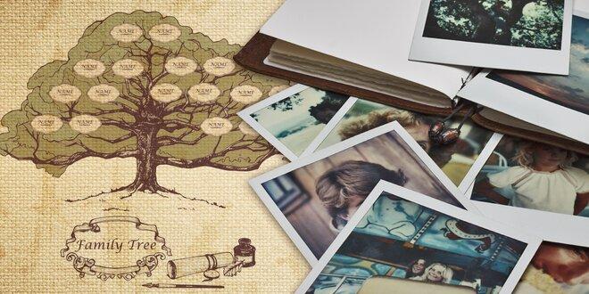 Vše o vašich předcích: Rodokmen z otcovské linie