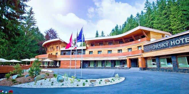 Luxusní pobyt v oceňovaném hotelu: Vstupy do lázní i špičková gastronomie