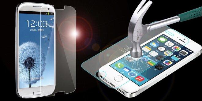 Tvrzené sklo 9H na ochranu mobilního displeje
