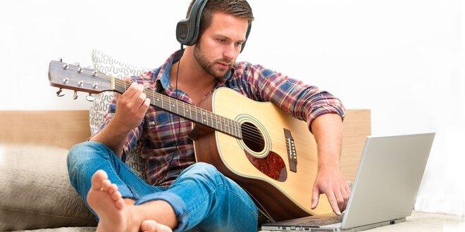 Online kurz hry na kytaru či bicí pro začátečníky
