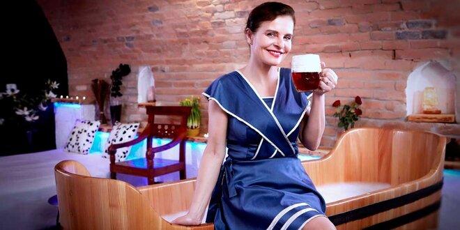 Božský pobyt s relaxačními procedurami v Rožnovských pivních a mořských lázních