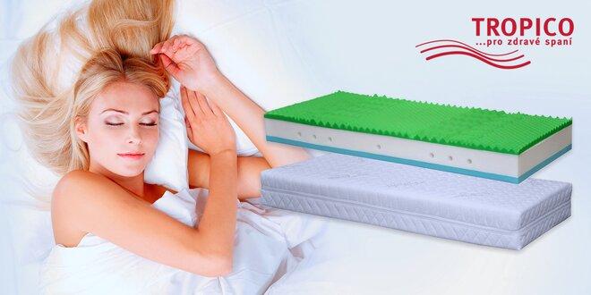 Dvoulůžkové matrace Medico Vertigo s paměťovou Visco pěnou