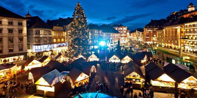 Adventní Záhřeb, Slovinsko a Rakousko s termály