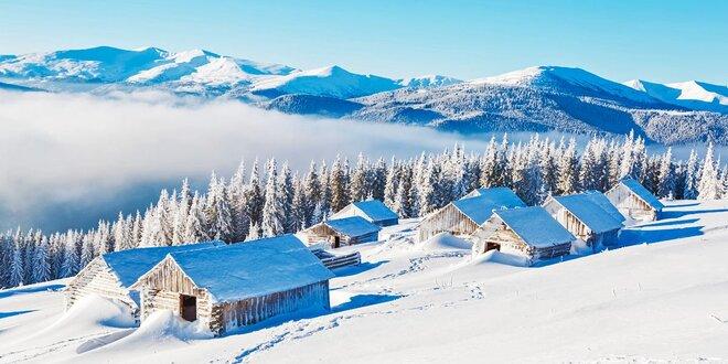 Zima a odpočink s polopenzí v Krkonoších