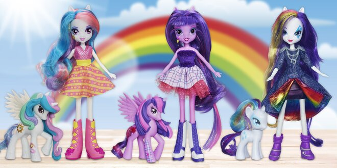 My Little Pony: Parádní panenka s poníkem