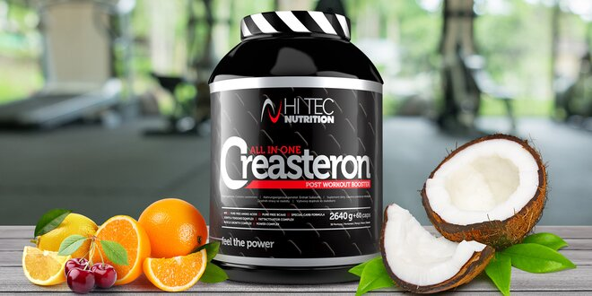 Creasteron – svaly, síla a energie