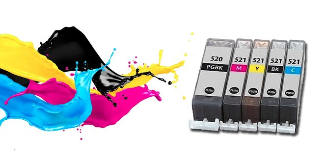 Kompatibilní náplně pro tiskárny Canon nebo lesklý fotopapír