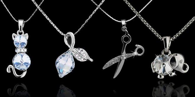 Dámské náhrdelníky s krystaly Swarovski Elements