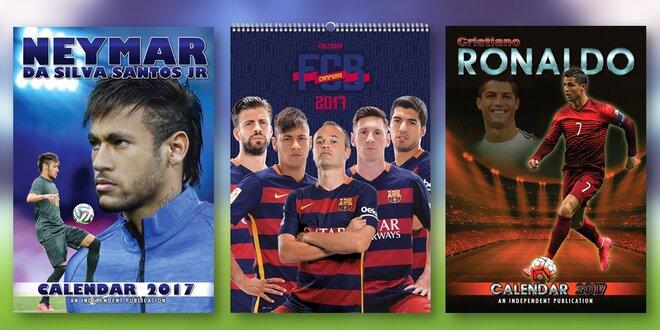 Kalendáře se sportovním tématikou pro rok 2017