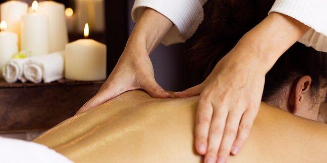 70minutové ajurvédské masáže pro jednotlivce nebo pár