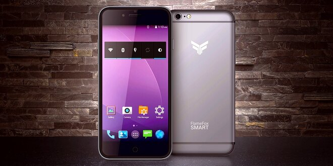Chytrý mobilní telefon FlameFox Smart