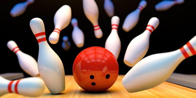 Až 2 kg uzených žeber s přílohou a bowling