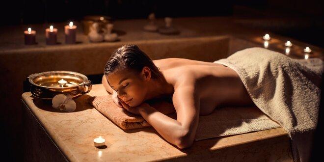 90 minut pohody s thajskou masáží a lázní