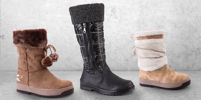 Zimní boty pro každou dámu