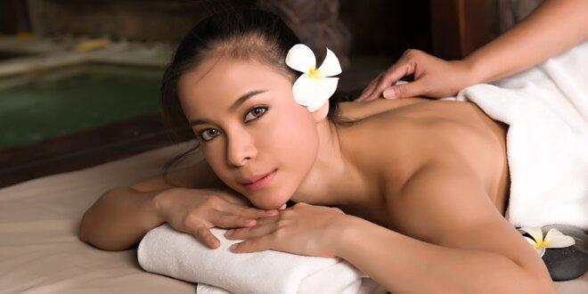 Thajské masáže ve vyhlášeném studiu Thai Sun