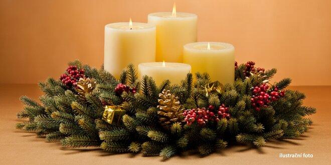 Adventní věnce: Kolik času zbývá do Štědrého dne?