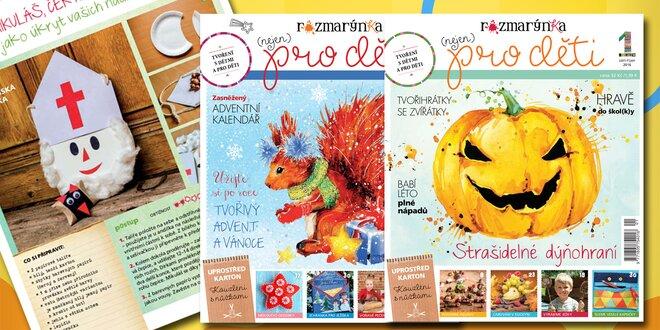Roční předplatné dětského časopisu Rozmarýnka