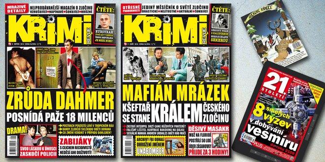 Předplatné časopisu Krimi revue + bonus