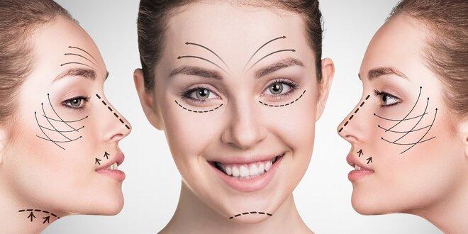 Liftingové ošetření obličeje pomocí radiofrekvence