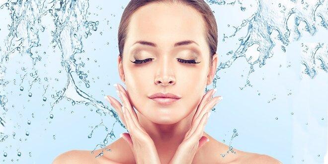 Galvanoterapie - 60minutové léčebné ošetření obličeje