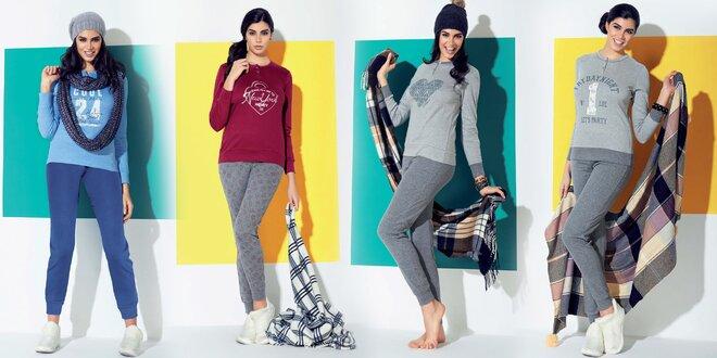 Luxusní dámská zimní pyžama IN UP