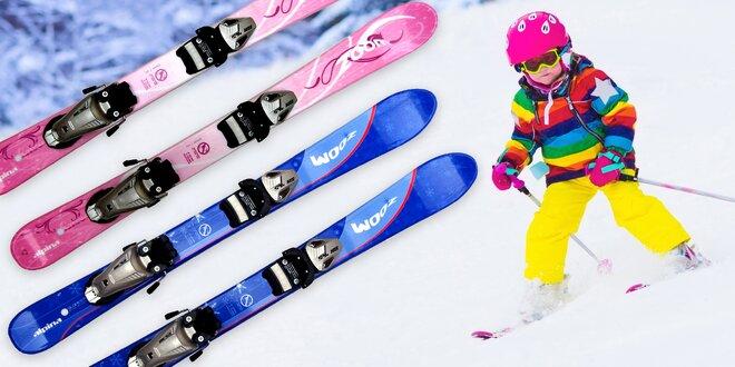 Dětské carvingové lyže Alpina s vázáním