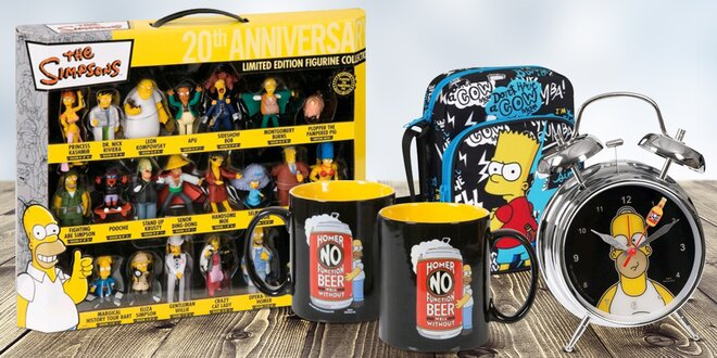 Bomba dárky z oficiální kolekce The Simpsons