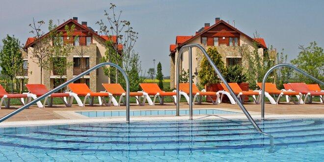 4 dny v maďarském apartmánu a vstup do wellness