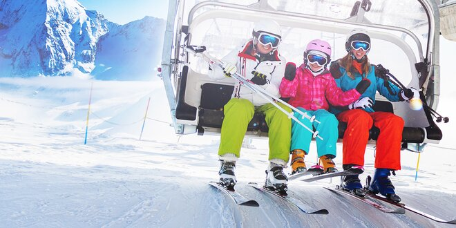 Prima lyžovačka v Itálii s dopravou a polopenzí