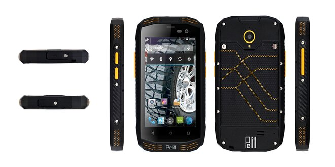 Odolný smartphone Pelitt Tempo s powerbankou