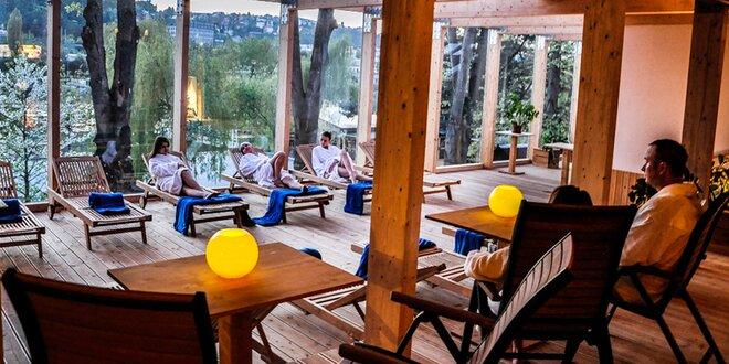 Přenosná permice do saunového světa v Podolí