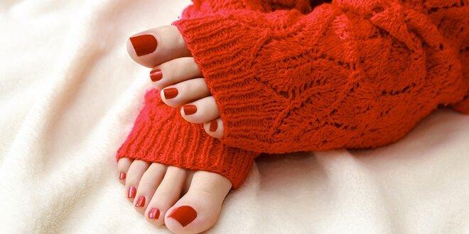 Suchá pedikúra pro krásné nohy