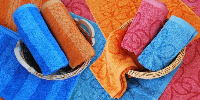 Měkoučké bambusové ručníky Dommio Bamboo s žakárovým vzorem