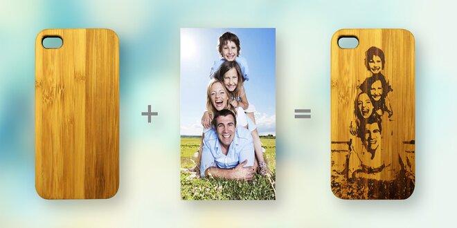 Originální dřevěné kryty na mobilní telefony