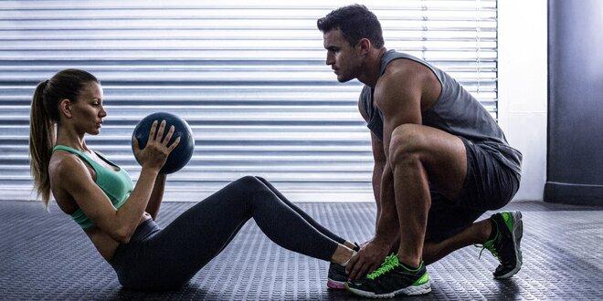 Osobní trénink privátním fitness studiu
