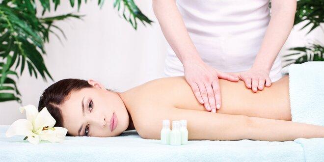 Masáž a kosmetika pro uvolnění napětí