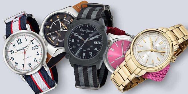 Módní dámské i pánské hodinky Pepe Jeans