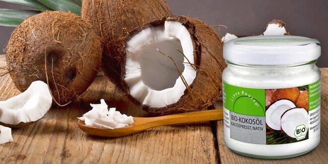 Panenský BIO kokosový olej do koupelny a kuchyně