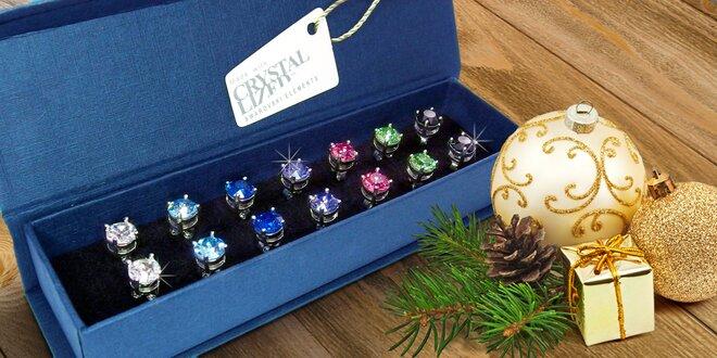 Sety náušnic s krystaly Swarovski Elements
