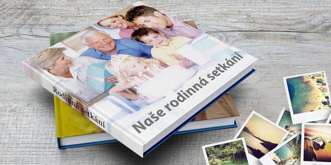 Fotokniha XL s vašimi obrázky v pevných deskách