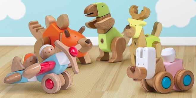 Dřevěné multifunkční hračky EQB