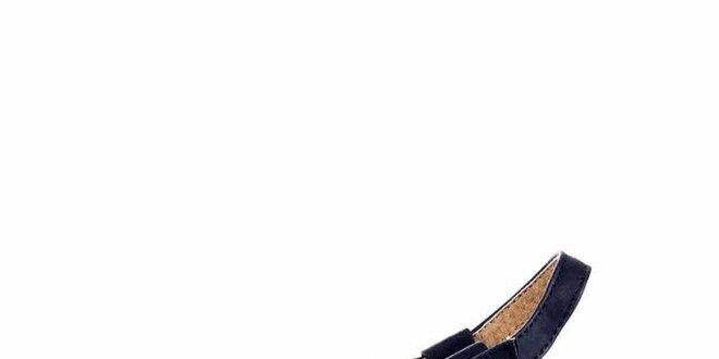Dámské modro-krémové sandálky Maria Mare