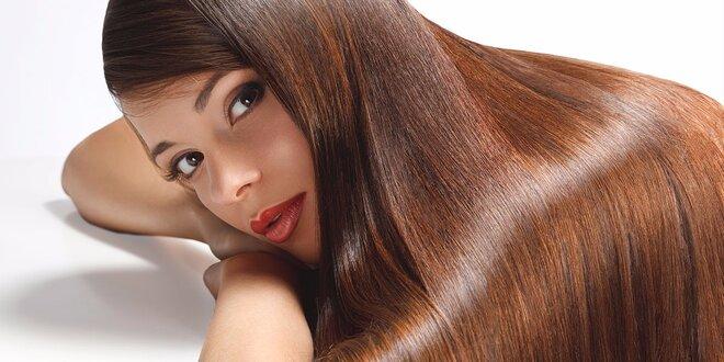 Střih pro dlouhé vlasy s výživou Olaplex