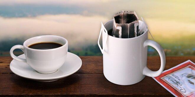 Překapávaná káva pro dobrodruhy